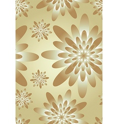 Elegant floral silk background vector image