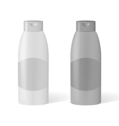 mockCosmetic container vector image