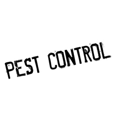 Pest control rubber stamp vector