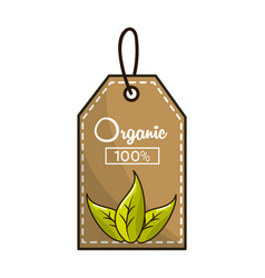 emblem vegan food icon stock vector image