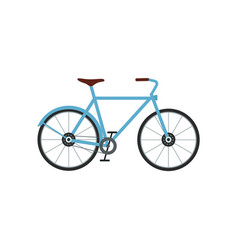 city bicycle sport activity vector image