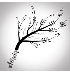 From music to nature vector image vector image