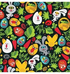 garden wallpaper vector image