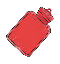 Isolated water bag design vector