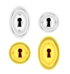 Key Holes vector image