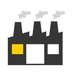 plant factory building icon vector image