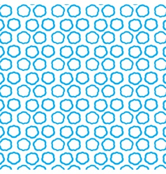 Repeating blue clouds seamless pattern vector image vector image