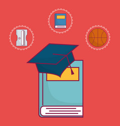 School related icon vector