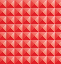 Triangle red jewel texture seamless background vector