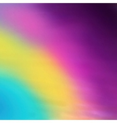 Abstract blurred background rainbow colors sky vector