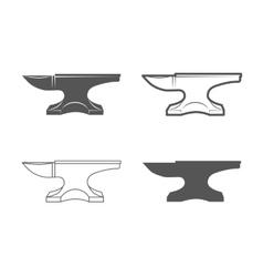 Anvil blacksmith equipment vector