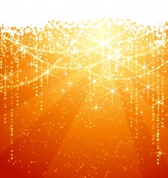 Christmas sparkle background vector image vector image