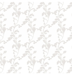Damask luxury floral ornament pattern vector