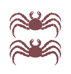 King crab vector