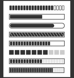loading bar vector image vector image