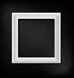 modern frame on dark modern wall eps10 vector image vector image