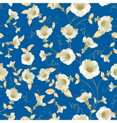 Bindweed samless pattern vector image