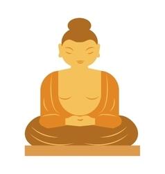 Buddha bangkok thailand religion statue buddhist vector image