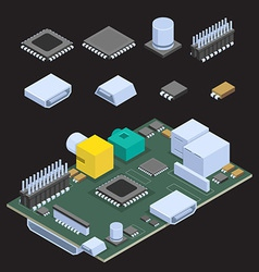 Computer Chip vector image