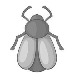 Maybug icon cartoon style vector image vector image