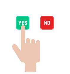 Select buttons like dilemma vector