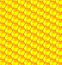 Golden cells of a honeycomb pattern vector