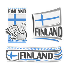 Logo for finland vector