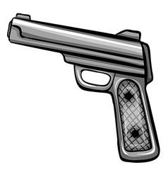 A gun vector