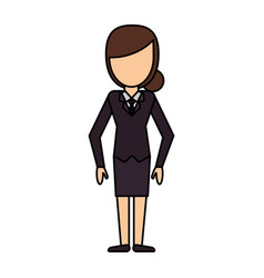 Cartoon woman female image vector