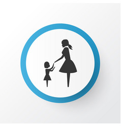 daughter icon symbol premium quality isolated vector image vector image