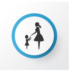 daughter icon symbol premium quality isolated vector image