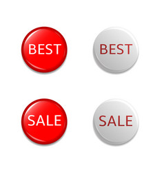 discount label set vector image