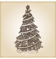 Christmas hand drawn - xmas vector