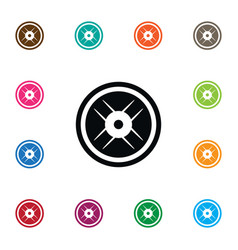 isolated wheel icon lbs element can be vector image