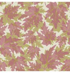 Seamless with leaves vector