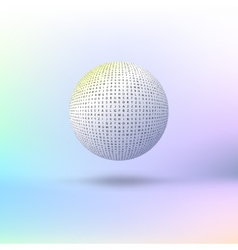 Ball of letters vector