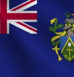 Pitcairn islands flag vector