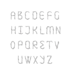 English alphabet set vector image