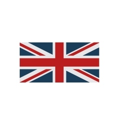 Flat icon on white background british flag vector