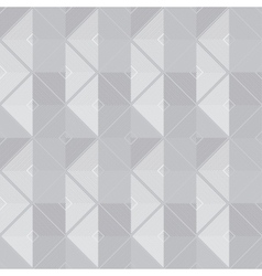 retro geometric gray seamless pattern vector image vector image