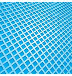 Abstract blue square background vector