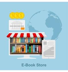 E book store vector
