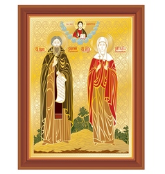 Orthodox icon vector