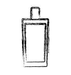 Fragance bottle icon vector