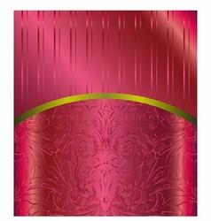Bordeaux Floral Luxury Background vector image
