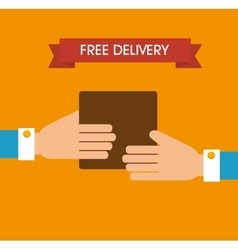 Free delivery and shipping vector