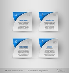 Business infographics template design elements vector image