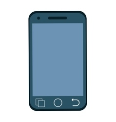 Smartphone icon technology design graphic vector