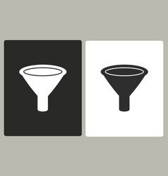 Funnel - icon vector