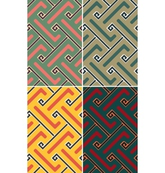 Indian geometric pattern seamless vector